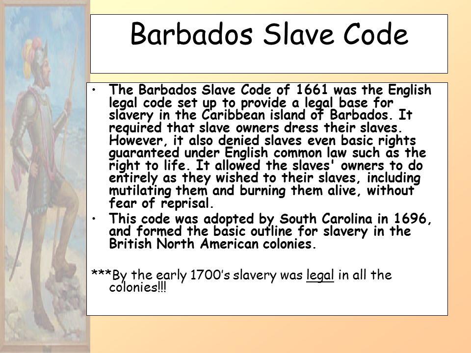 Barbados+Slave+Code